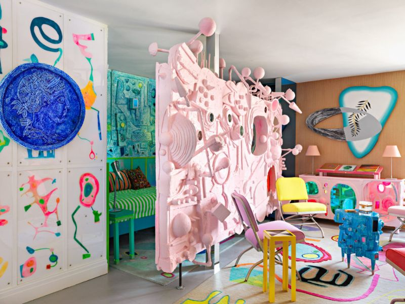 A Flamboyantly Colorful Home Design Like You've Never Seen Before home design A Flamboyantly Colorful Home Design Like You've Never Seen Before A Flamboyantly Colorful Home Like Youve Never Seen Before 2
