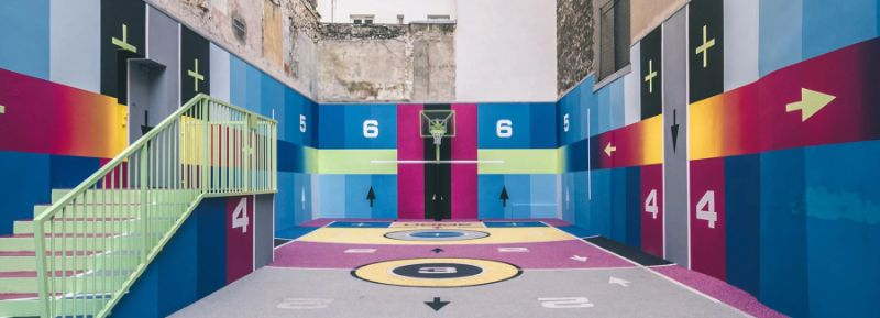 Modern Art Around Paris - The Famous Pigalle Basketball Gets Renovated modern art Modern Art Around Paris – The Famous Pigalle Basketball Gets Renovated Art Around Paris The Famous Pigalle Basketball Gets Renovated
