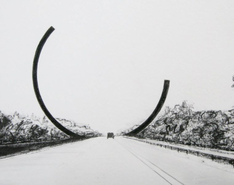 art sculpture Bernar Venet Frames Belgian Motorway With A New Modern Art Sculpture BernarVenet Frames Belgian Motorway With A New Modern Art Sculpture feature 760x600 homepage Homepage BernarVenet Frames Belgian Motorway With A New Modern Art Sculpture feature 760x600