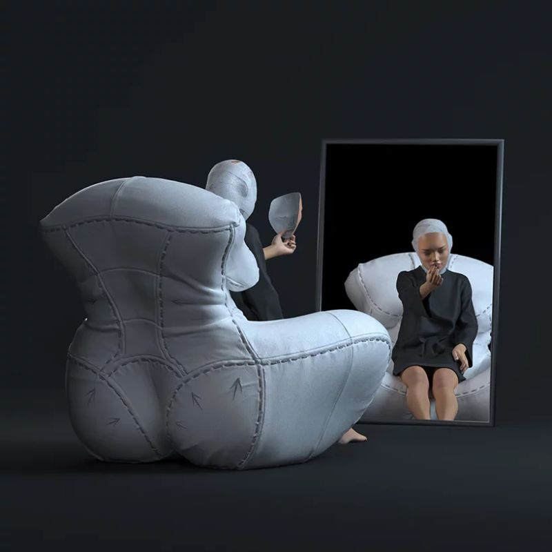 "Gaetano Pesce's Famous Armchair Goes Through A ""Plastic Surgery"" gaetano pesce Gaetano Pesce's Famous Armchair Goes Through A ""Plastic Surgery"" GaetanoPesces Famous Armchair Goes Through A Plastic Surgery 7"
