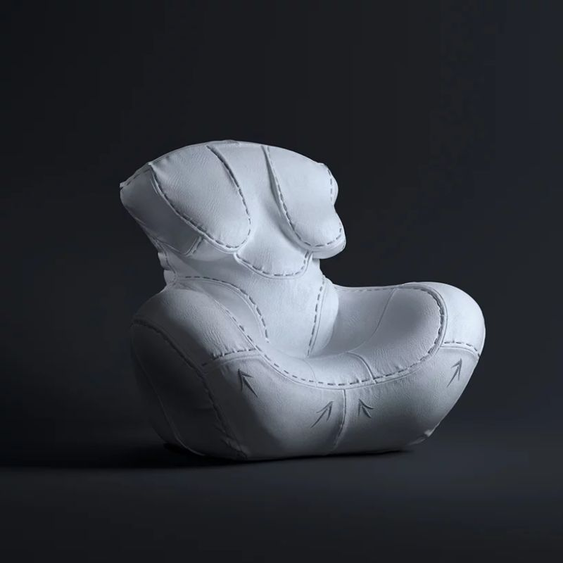"Gaetano Pesce's Famous Armchair Goes Through A ""Plastic Surgery"" gaetano pesce Gaetano Pesce Puts Its Furniture Design ""Under The Knife"" GaetanoPesces Famous Armchair Goes Through A Plastic Surgery 9"