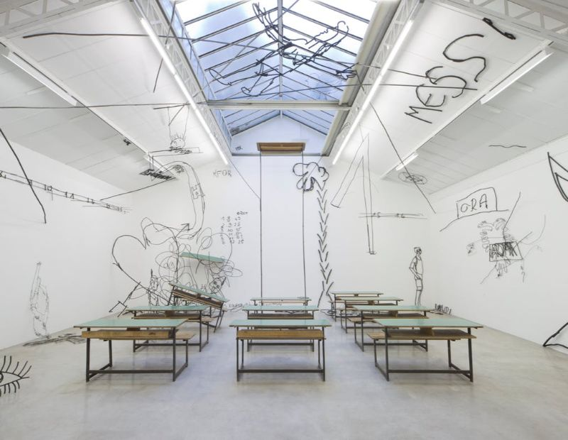 contemporary art What To Do In Paris: The Most Amazing Contemporary Art Galleries Galerie Kamel Mennour