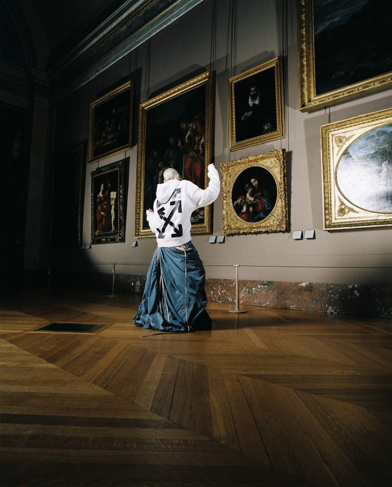 Off-White's New Collection: Virgil Abloh Collaborates With The Louvre virgil abloh Off-White's New Collection: Virgil Abloh Collaborates With The Louvre Off Whites New Collection VirgilAbloh Collaborates With The Louvre