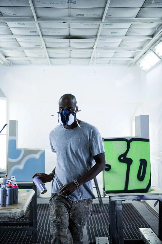 Virgil Abloh Brings To Galerie Kreo A Graffiti-Sprayed Art Furniture virgil abloh Virgil Abloh Brings To Galerie Kreo A Graffiti-Sprayed Art Furniture VirgilAbloh Brings To GalerieKreo A Graffiti Sprayed Art Furniture 14 683x1024