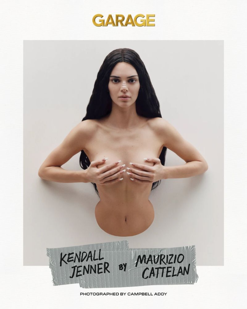 Kendall Jenner Embodies Iconic Artworks by Maurizio Cattelan kendall jenner Kendall Jenner Embodies Iconic Artworks by Maurizio Cattelan KendallJenner Embodies Iconic Artworks by MaurizioCattelan 2