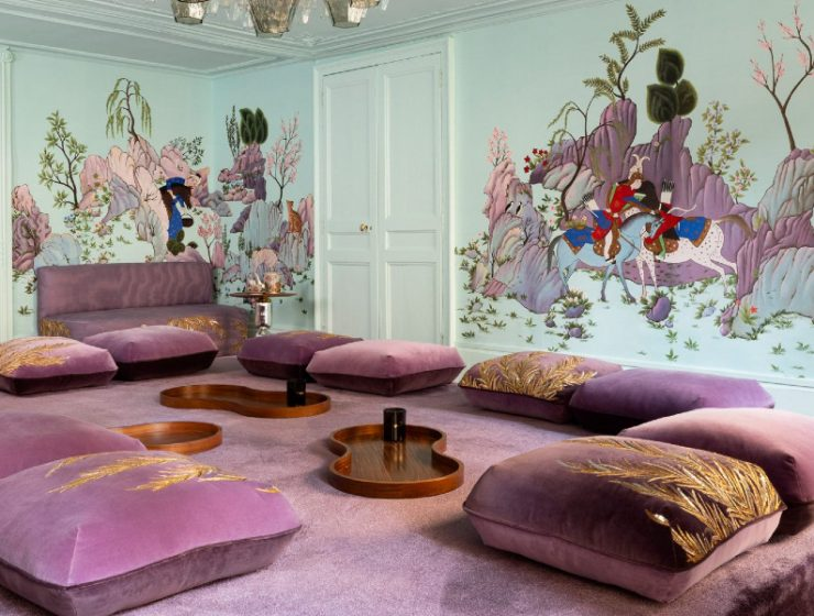india mahdavi India Mahdavi and De Gournay – An Utterly Sophisticated Collaboration feature 16 740x560