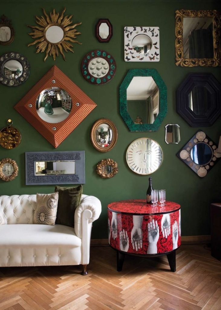 Piero Fornasetti's Home in Milan in An Homage to The Design Genius piero fornasetti Piero Fornasetti's Home in Milan is An Homage to The Design Genius Fornasettis Home in Milan in An Homage to The Design Genius 10 731x1024