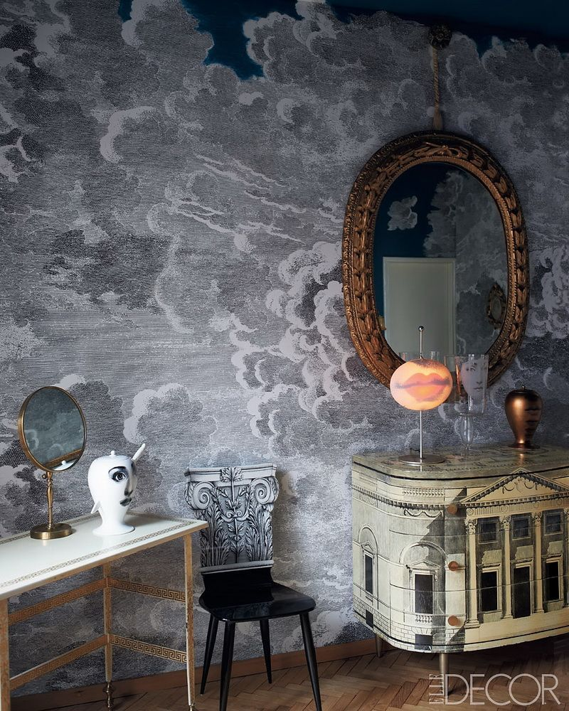 Piero Fornasetti's Home in Milan in An Homage to The Design Genius piero fornasetti Piero Fornasetti's Home in Milan is An Homage to The Design Genius Fornasettis Home in Milan in An Homage to The Design Genius 11