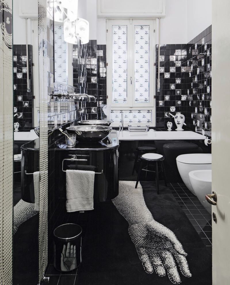 Piero Fornasetti's Home in Milan in An Homage to The Design Genius piero fornasetti Piero Fornasetti's Home in Milan is An Homage to The Design Genius Fornasettis Home in Milan in An Homage to The Design Genius 4