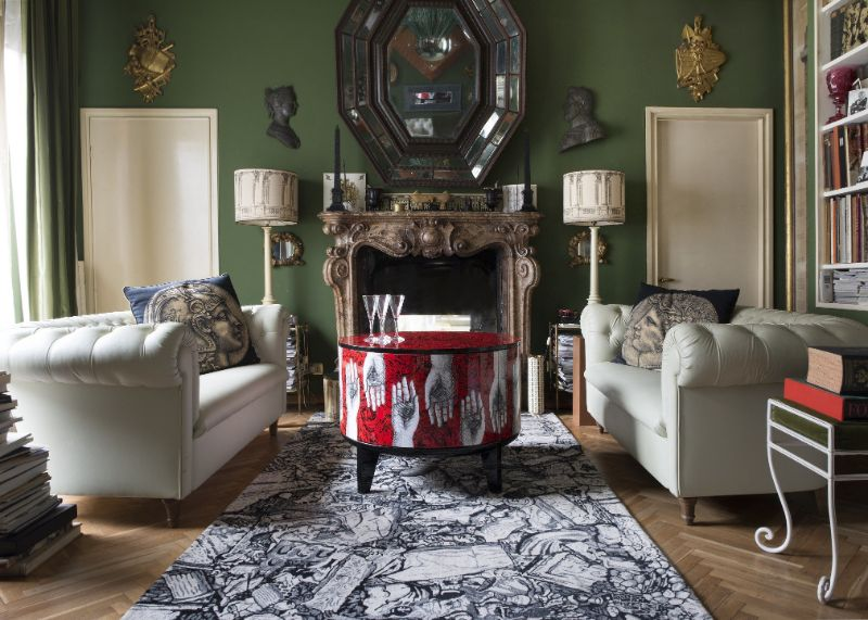 Piero Fornasetti's Home in Milan in An Homage to The Design Genius piero fornasetti Piero Fornasetti's Home in Milan is An Homage to The Design Genius Fornasettis Home in Milan in An Homage to The Design Genius 6