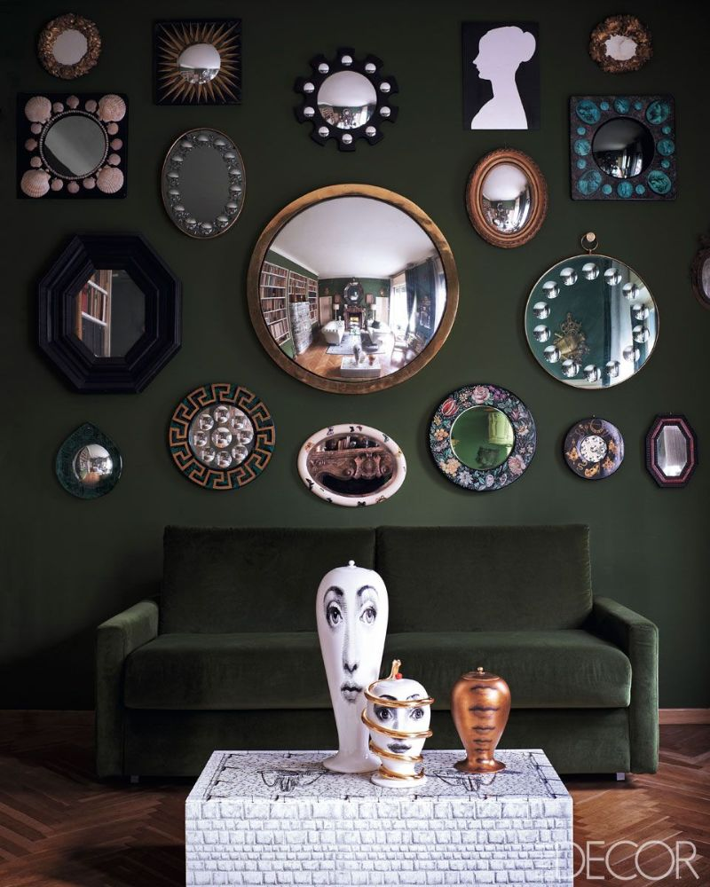 Piero Fornasetti's Home in Milan in An Homage to The Design Genius piero fornasetti Piero Fornasetti's Home in Milan is An Homage to The Design Genius Fornasettis Home in Milan in An Homage to The Design Genius 9