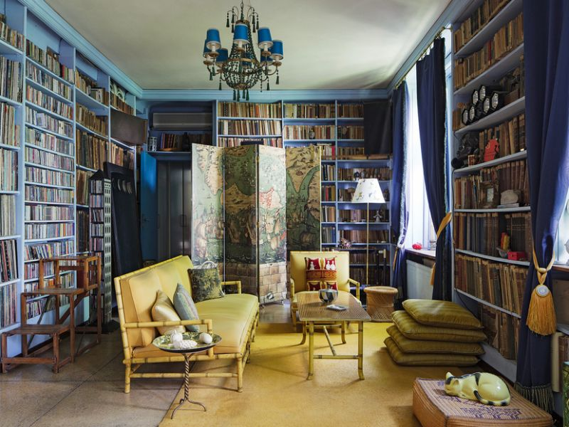 Piero Fornasetti's Home in Milan in An Homage to The Design Genius piero fornasetti Piero Fornasetti's Home in Milan is An Homage to The Design Genius Fornasettis Home in Milan in An Homage to The Design Genius