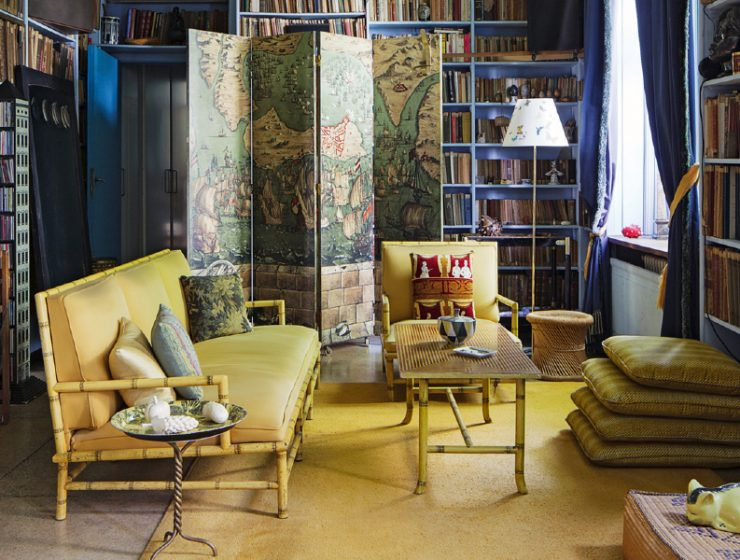 piero fornasetti Piero Fornasetti's Home in Milan is An Homage to The Design Genius feature 66 740x560