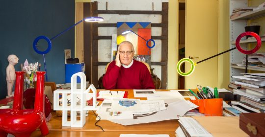 alessandro mendini Reminiscing Alessandro Mendini's Colorful and Playful Art Furniture feature 76 540x280 homepage Homepage feature 76 540x280