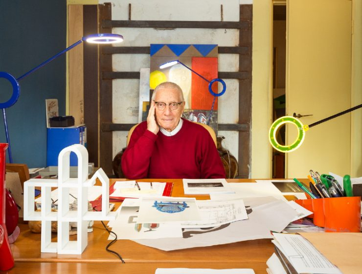 alessandro mendini Reminiscing Alessandro Mendini's Colorful and Playful Art Furniture feature 76 740x560