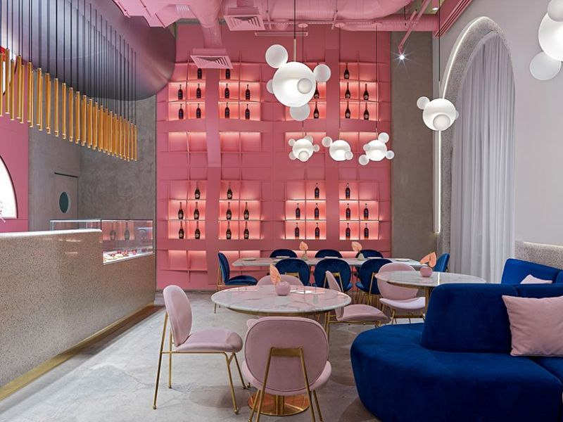 Dive Into A Pastel Pink World At The 'Dijon' Modern Restaurant modern restaurant Dive Into A Pastel Pink World At The 'Dijon' Modern Restaurant Dive Into A Pastel Pink World At The Dijon Modern Restaurant 10