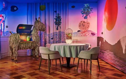 matteo cibic An Incredibly Playful Space: The El Coq Restaurant by Matteo Cibic An Incredibly Playful Space The El Coq Restaurant by Matteo Cibic feature image 480x300