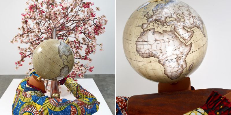 Globes And Astronauts Come To Like In Artist Yinka Shonibare's Work yinka shonibare Globes And Astronauts Come To Life In Artist Yinka Shonibare's Work Globes And Astronauts Come To Like In Artist Yinka Shonibares Work 4