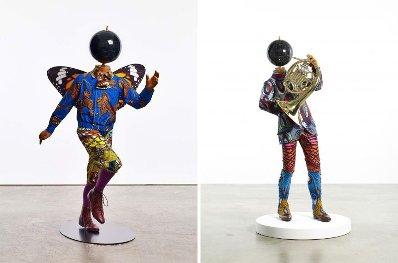 Globes And Astronauts Come To Like In Artist Yinka Shonibare's Work yinka shonibare Globes And Astronauts Come To Life In Artist Yinka Shonibare's Work Globes And Astronauts Come To Like In Artist Yinka Shonibares Work 7