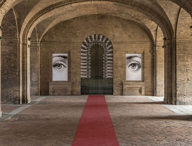 fornasetti Unraveling Fornasetti's Theatrum Mundi Exhibition in Italy Unraveling Fornasettis Theatrum Mundi Exhibition in Italy feature 740x560