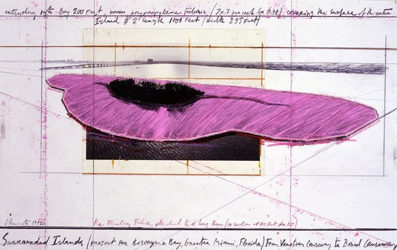 Unraveling The Story Behind Christo and Jeanne-Claude's Pink Islands christo Unraveling The Story Behind Christo and Jeanne-Claude's Pink Islands Unraveling The Story Behind Christo and Jeanne Claudes Pink Islands 3