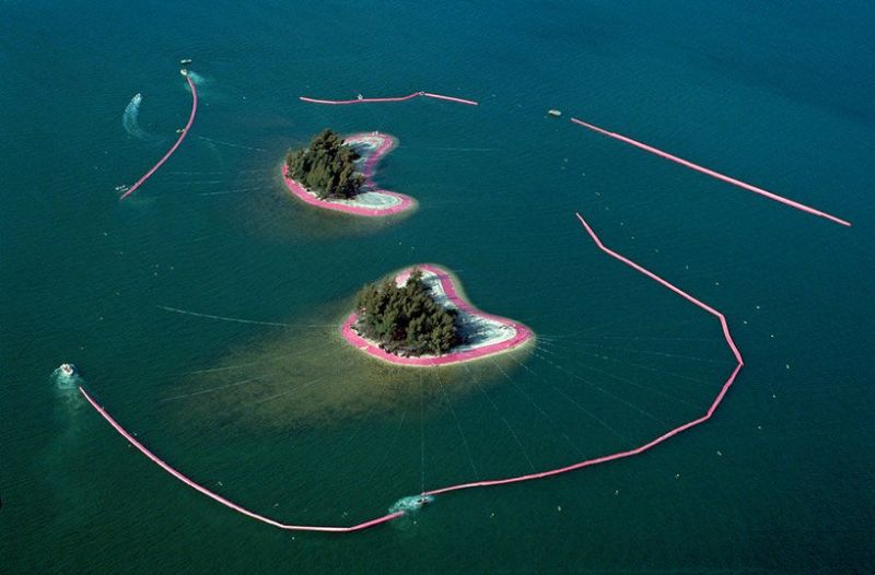 Unraveling The Story Behind Christo and Jeanne-Claude's Pink Islands christo The Pink Islands – One Of Christo and Jeanne-Claude Most Iconic Works Unraveling The Story Behind Christo and Jeanne Claudes Pink Islands 5