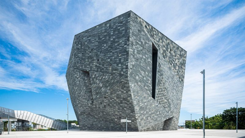 An Angular Architecture Art: Japan's New Kadokawa Culture Museum architecture art An Angular Architecture Art: Japan's New Kadokawa Culture Museum An Angular Architecture Art Japan   s New Kadokawa Culture Museum 5