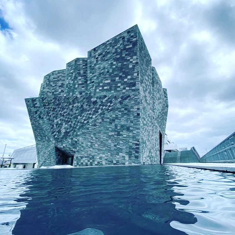 An Angular Architecture Art: Japan's New Kadokawa Culture Museum architecture art An Angular Architecture Art: Japan's New Kadokawa Culture Museum An Angular Architecture Art Japan   s New Kadokawa Culture Museum 8