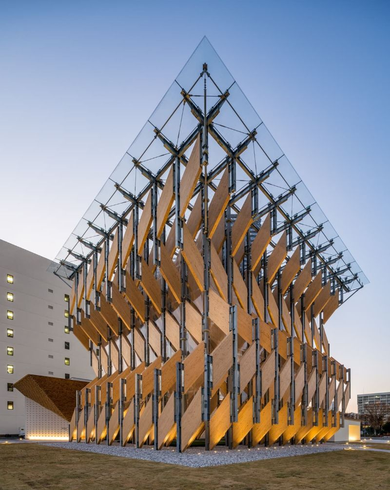 An Angular Architecture Art: Japan's New Kadokawa Culture Museum architecture art An Angular Architecture Art: Japan's New Kadokawa Culture Museum An Angular Architecture Art Japan   s New Kadokawa Culture Museum 9