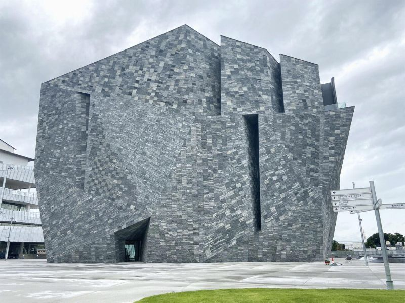 An Angular Architecture Art: Japan's New Kadokawa Culture Museum architecture art An Angular Architecture Art: Japan's New Kadokawa Culture Museum An Angular Architecture Art Japan   s New Kadokawa Culture Museum