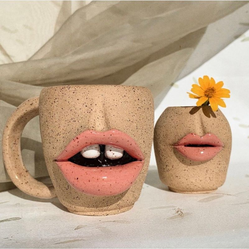 Voluptuous and Bold Lips On Handmade Ceramic Art By Tatiana Cardona ceramic art Voluptuous and Bold Lips On Handmade Ceramic Art By Tatiana Cardona Voluptuous and Bold Lips On Handmade Ceramic Art By Tatiana Cardona 11