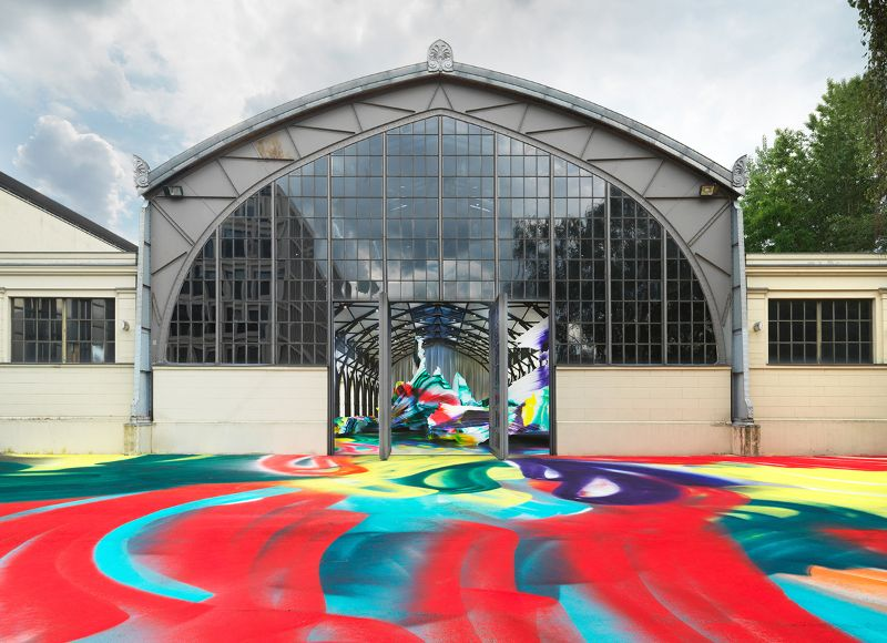 A Prismatic and Colorful Art Installation Sweeps Across a Berlin Museu art installation A Prismatic and Colorful Art Installation Sweeps Across a Berlin Museu A Prismatic and Colorful Art Installation Sweeps Across a Berlin Museu 2