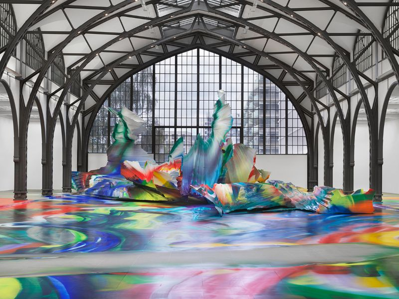 A Prismatic and Colorful Art Installation Sweeps Across a Berlin Museu art installation A Prismatic and Colorful Art Installation Sweeps Across a Berlin Museu A Prismatic and Colorful Art Installation Sweeps Across a Berlin Museu 3