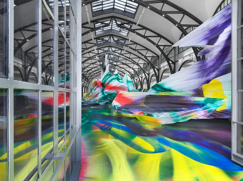 A Prismatic and Colorful Art Installation Sweeps Across a Berlin Museu art installation A Prismatic and Colorful Art Installation Sweeps Across a Berlin Museu A Prismatic and Colorful Art Installation Sweeps Across a Berlin Museu 5