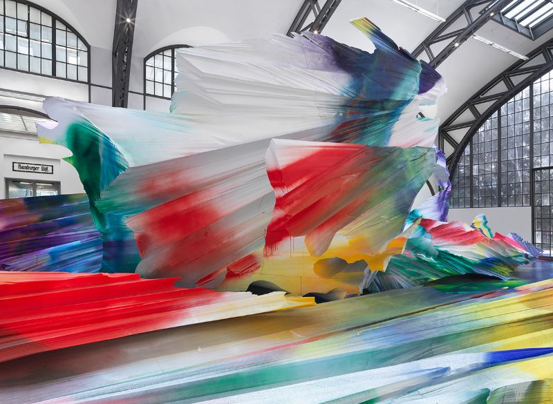 A Prismatic and Colorful Art Installation Sweeps Across a Berlin Museu art installation A Prismatic and Colorful Art Installation Sweeps Across a Berlin Museu A Prismatic and Colorful Art Installation Sweeps Across a Berlin Museu 6