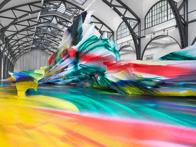 A Prismatic and Colorful Art Installation Sweeps Across a Berlin Museu art installation A Prismatic and Colorful Art Installation Sweeps Across a Berlin Museu A Prismatic and Colorful Art Installation Sweeps Across a Berlin Museu 9