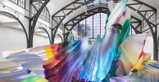 art installation A Prismatic and Colorful Art Installation Sweeps Across a Berlin Museu A Prismatic and Colorful Art Installation Sweeps Across a Berlin Museu feature image 540x280 homepage Homepage A Prismatic and Colorful Art Installation Sweeps Across a Berlin Museu feature image 540x280