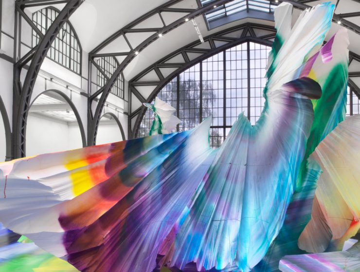 art installation A Prismatic and Colorful Art Installation Sweeps Across a Berlin Museu A Prismatic and Colorful Art Installation Sweeps Across a Berlin Museu feature image 740x560 homepage Homepage A Prismatic and Colorful Art Installation Sweeps Across a Berlin Museu feature image 740x560