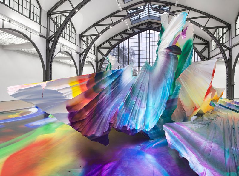 A Prismatic and Colorful Art Installation Sweeps Across a Berlin Museu art installation A Prismatic and Colorful Art Installation Sweeps Across a Berlin Museu A Prismatic and Colorful Art Installation Sweeps Across a Berlin Museu