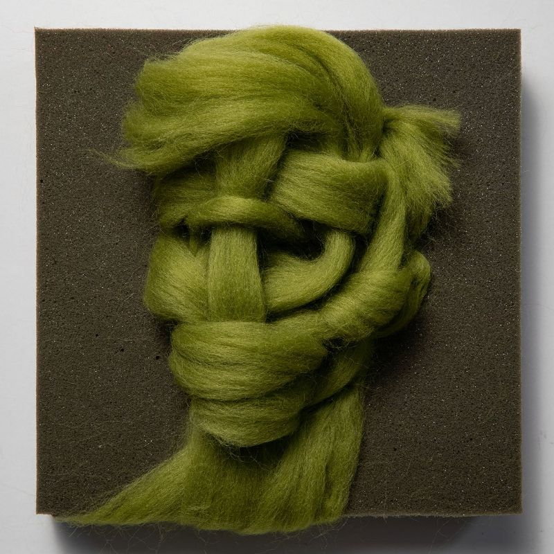 modern art Salman Khoshroo's Wool Portraits: Delicate and Vulnerable Modern Art Salman Khoshroo   s Wool Portraits Delicate and Vulnerable Modern Art 10