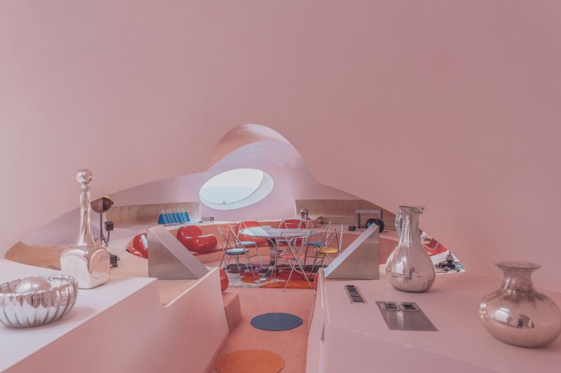 "2020's Nomad Exhibition: Inside An Unpredictable Architecture Place nomad exhibitions Nomad Exhibitions' ""Bubble Palace"", An Architectural Masterpiece In Théoule-Sur-Mer 2020s Nomad Exhibition Inside An Unpredictable Architecture Place 5"