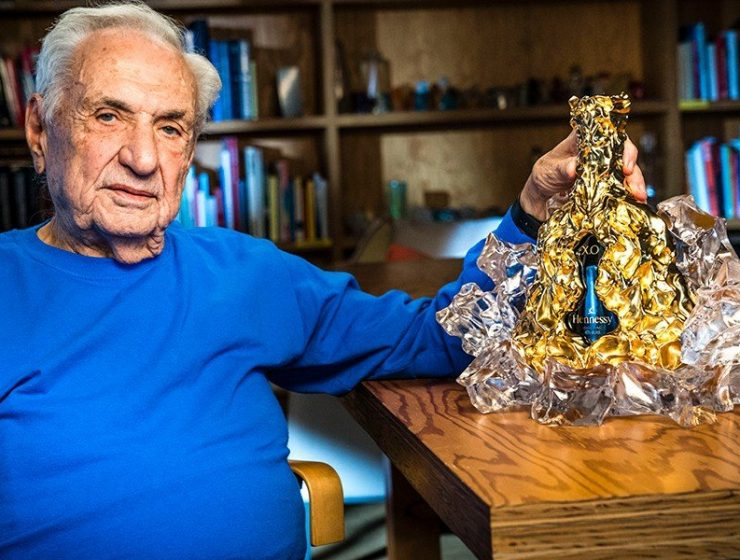 frank gehry A Golden Creation: Frank Gehry and Hennessy X.O Celebrate Design A Golden Creation Frank Gehry and Hennessy XO Celebrate Design feature image 740x560 homepage Homepage A Golden Creation Frank Gehry and Hennessy XO Celebrate Design feature image 740x560