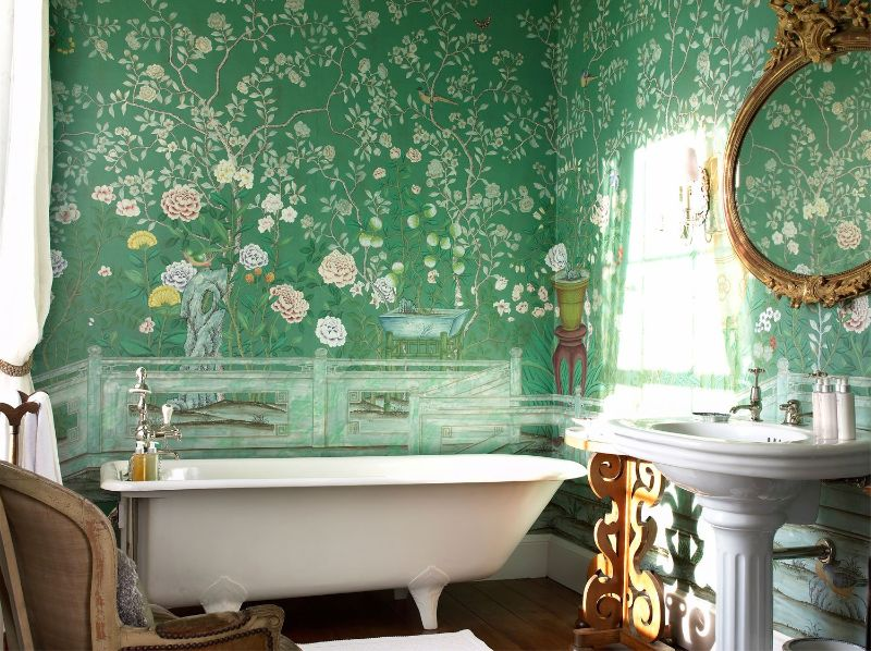 De Gournay's Hand-Painted Wallpapers Are Inexplicably Enchanting de gournay De Gournay's Hand-Painted Wallpapers Are Inexplicably Enchanting De Gournays Hand Painted Wallpapers Are Inexplicably Enchanting 6