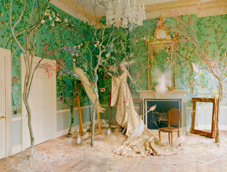 de gournay De Gournay's Hand-Painted Wallpapers Are Inexplicably Enchanting feature image 2020 10 23T142638