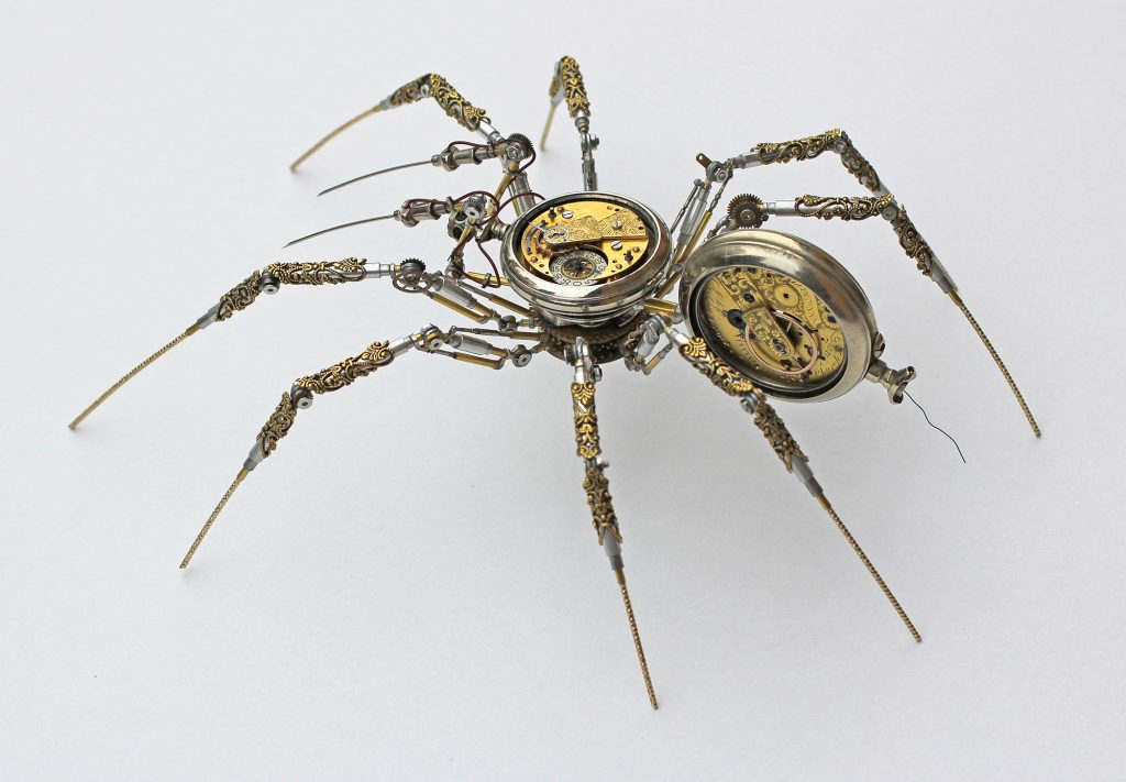Bizarre Modern Art Creations: Steampunk Spiders Made With Watches modern art Bizarre Modern Art Creations: Steampunk Spiders Made With Watches Bizarre Modern Art Creations Steampunk Spiders Made With Watches 2 1024x711