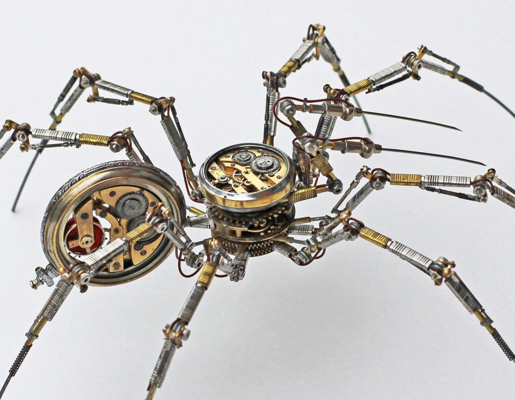 Bizarre Modern Art Creations: Steampunk Spiders Made With Watches modern art Bizarre Modern Art Creations: Steampunk Spiders Made With Watches Bizarre Modern Art Creations Steampunk Spiders Made With Watches 3 1024x795