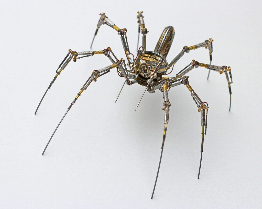 Bizarre Modern Art Creations: Steampunk Spiders Made With Watches modern art Bizarre Modern Art Creations: Steampunk Spiders Made With Watches Bizarre Modern Art Creations Steampunk Spiders Made With Watches 4 1024x817
