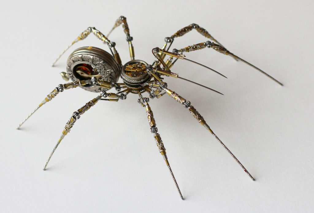 Bizarre Modern Art Creations: Steampunk Spiders Made With Watches modern art Bizarre Modern Art Creations: Steampunk Spiders Made With Watches Bizarre Modern Art Creations Steampunk Spiders Made With Watches 6 1024x695