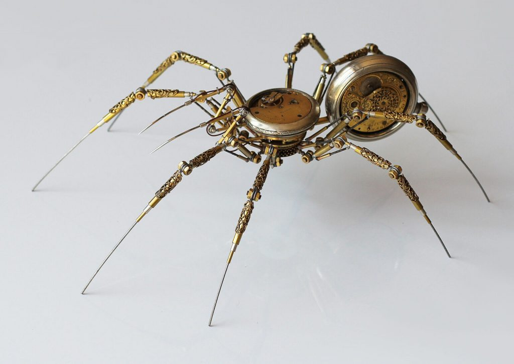 Bizarre Modern Art Creations: Steampunk Spiders Made With Watches modern art Bizarre Modern Art Creations: Steampunk Spiders Made With Watches Bizarre Modern Art Creations Steampunk Spiders Made With Watches 8 1024x725