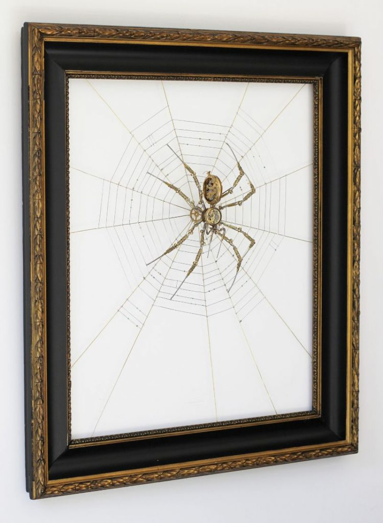 Bizarre Modern Art Creations: Steampunk Spiders Made With Watches modern art Bizarre Modern Art Creations: Steampunk Spiders Made With Watches Bizarre Modern Art Creations Steampunk Spiders Made With Watches 9 750x1024